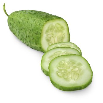 Cucumber and Cottage Cheese