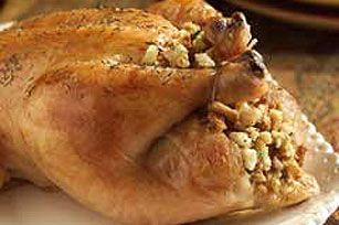 Stuffed whole Chicken