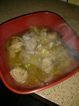 HCG P2 Turkey Meatball Soup