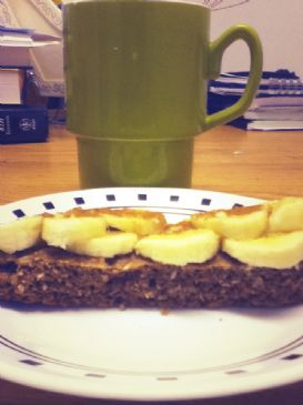Banana Raisin Breakfast Bar