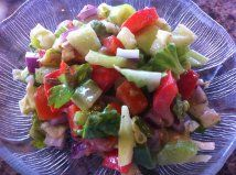 Summer Salad with Light Dill dressing