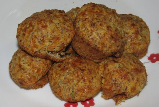 Cheesy Almond Flour Muffins