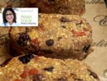 Penny�s Almost 100% Raw Holiday Fruitcake