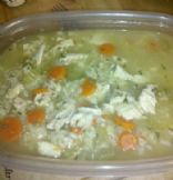 Cheap & Low-Fat Chicken and Brown Rice Soup