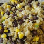 Quinoa & Black Beans Side Dish