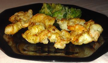 Seared Garlic Shrimp