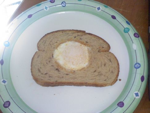 Rye Egg in a Basket
