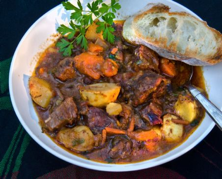 Savory Fall Beef Stew