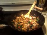 Shrimp & Winter Veggie Wok