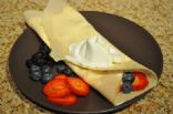 Crepes w/Berries in 3 min. or less