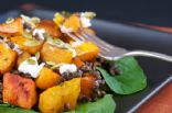 Curried Lentil and Butternut Squash Salad