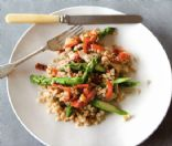 Farro with Chicken & Asparagus