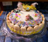 Easter - Carrot and Walnut Cake