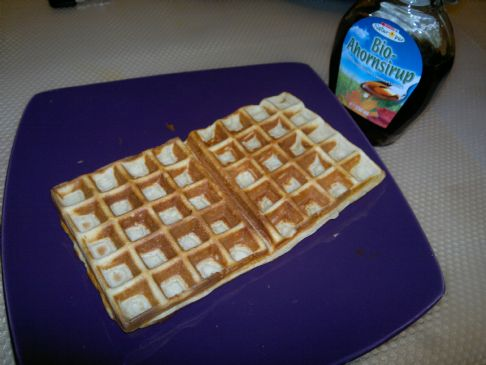 Low fat waffles