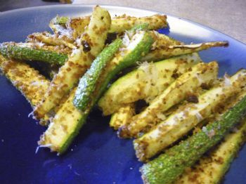 Baked Zuchini Sticks