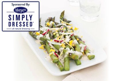 Simply Dressed Asparagus Salad