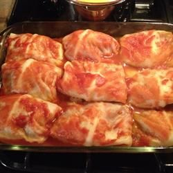 Polish Golumpki (stuffed cabbage)