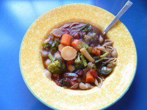Vegetable Soup (Party Like a Vegan)