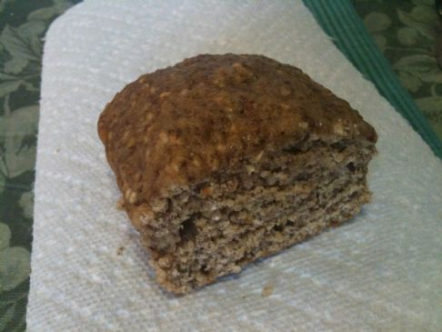 Banana Oatmeal Quick Bread