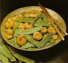 Stir Fried Shrimp & Pea Pods