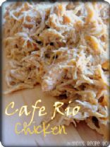 Cafe Rio Chicken