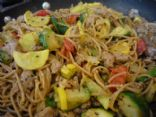 Pasta with Italian Turkey Sausage & Summer Squash