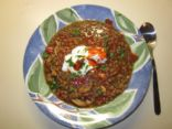 Shredded Chicken and Lentil Stew