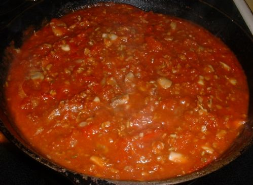 SPICY TOMATO PASTA SAUCE Recipe | SparkRecipes