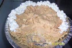 Peanut Butter Pie low carb
