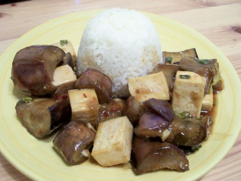 Spicy Eggplant with Tofu