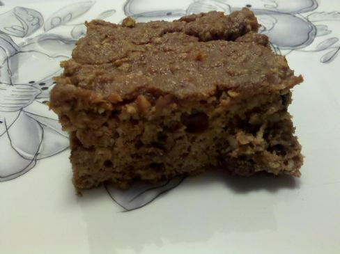 Pumpkin Cake Protein Bar