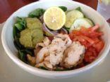 Grilled Chicken Hummus Bowl