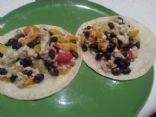 Black Bean & Egg White Breakfast Tacos