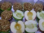 Baked Apples with Oatmel Strusel Topping