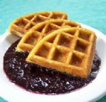 Coconut Flour Waffles (secret ingredient)