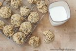 Whole wheat oatmeal banana cookies