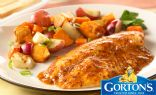 Simply Bake Tilapia with Roasted Vegetables from Gorton's