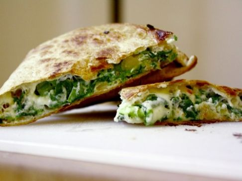 Spinach Pie Quesidilla