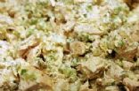 Chicken Salad with apple and lime