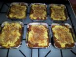 Vegetable and Soy Mince Lasagna (6 individual serves)