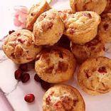 Diabetic Cranberry Walnut Muffins