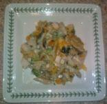 White Chicken Vegetable Casserole