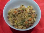 Mexican Vegetable Chicken Rice Stovetop Casserole
