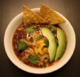 Crockpot Meatless Taco Soup