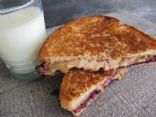180 Calorie PB&J Sandwich