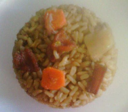 Whole Wheat Rice with Onion (LV)