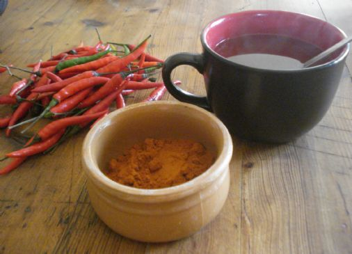 Cayenne Sore Throat Tea