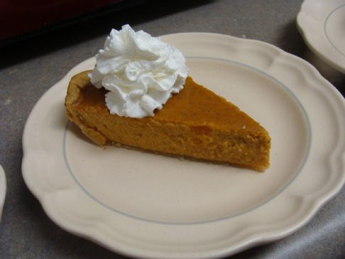 Dollbabe56's (Haley's) Creamy Pumpkin Pie