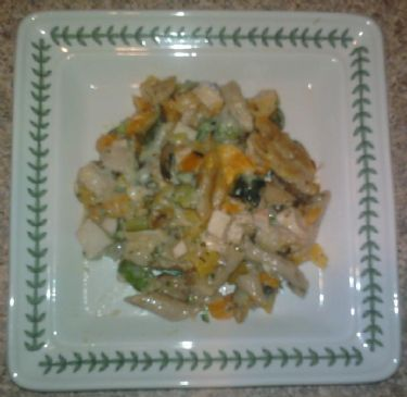 White Chicken Vegetable Casserole