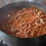 Dutch oven Green Chili Beef